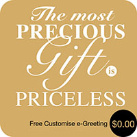 Priceless Gift (e-Greeting)